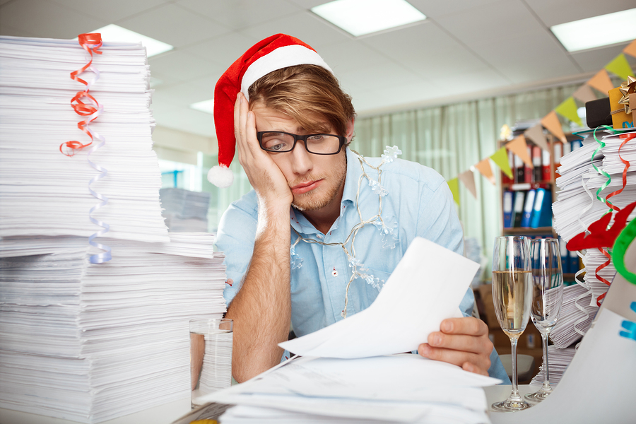 For Writers, The Holiday Season Can Be a Struggle